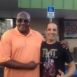 Maydad and Former world Middle weight Boxing  Champion Mike the body snatcher McCallum