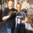 maydad with Tommy avalos from Main event Boxing Gym california